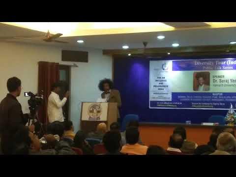 Dr Suraj Yengde Harvard University Diversity Tour India Part #2