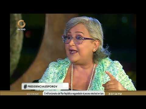 Tibisay Lucena: La comunidad internacional no tiene nada que decir de este proceso electoral (1/5)