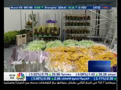 AlJowder Flowers CNBC Arabia Report
