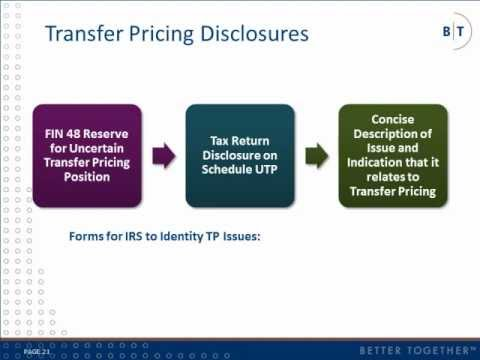 An Introduction to Transfer Pricing