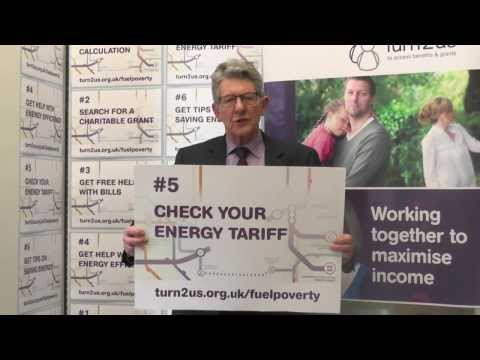 Rt Hon Don Foster, MP supports Turn2us Fuel Poverty campaign
