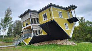 Mimari ilüzyonun sırrı.. böyle bina olur mu?