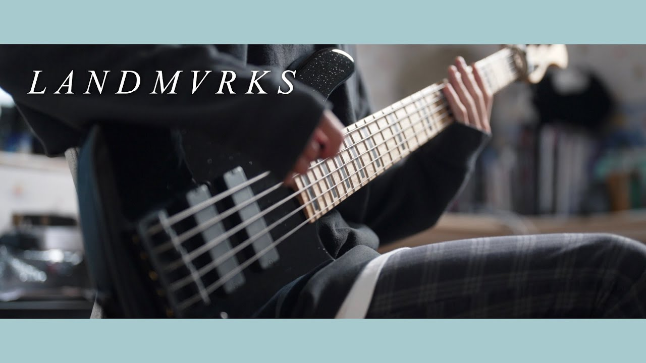 LANDMVRKS - Tired of It All | Bass Cover