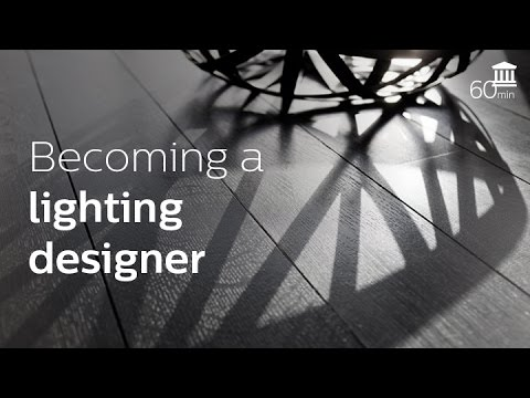 Becoming a lighting designer (Andrea, Daria and Maurizio)