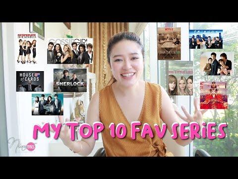 LIFESTYLE || My Top 10 Fav Series ซีรีย์ที่นีน่าชอบมากที่สุด || NinaBeautyWorld - วันที่ 03 May 2018