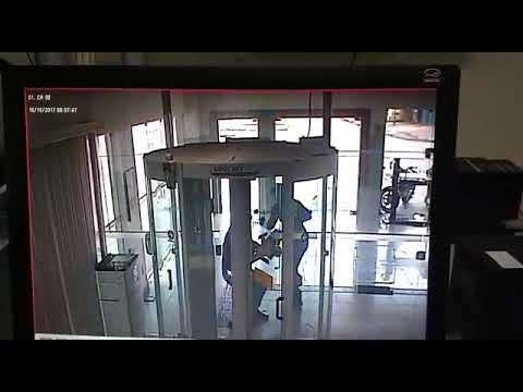 Video mostra assalto no Banco do Brasil