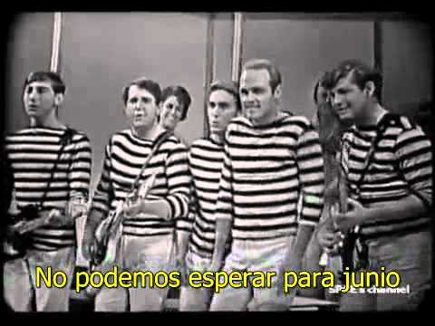 The Beach Boys   Surfin USA 1963 Clip With David Marks SUBTITULADO