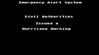 The EAS Vault: Hurricane Warning