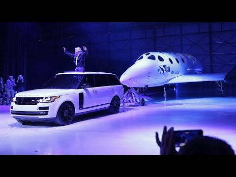 Virgin Galactic unveils its new SpaceShipTwo vehicle