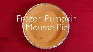 Lifestyle Health: Frozen Pumpkin Mousse Pie