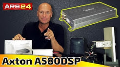 Axton A580DSP   4 Kanal Verstärker mit DSP für Einsteiger    ARS24