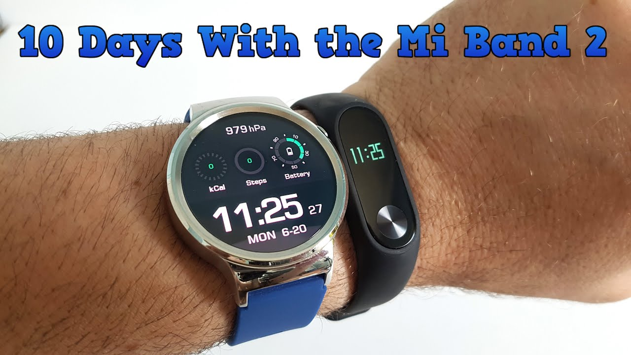 10 Days with the Xiaomi Mi Band 2 - Some Questions ...