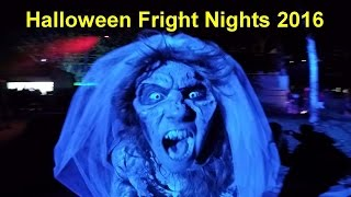 Halloween Fright Nights 2016 - Walibi Holland – Scare Zones: Pirate´s Cove, Twisted Hellfire & more