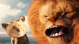 Mufasa Brainwashes Simba: Live Action Remake [ Lion King ]