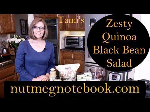 Zesty Quinoa Black Bean Salad