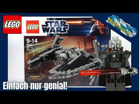 LEGO Star Wars 9500 - Sith Fury-class Interceptor | Review+Unboxing deutsch
