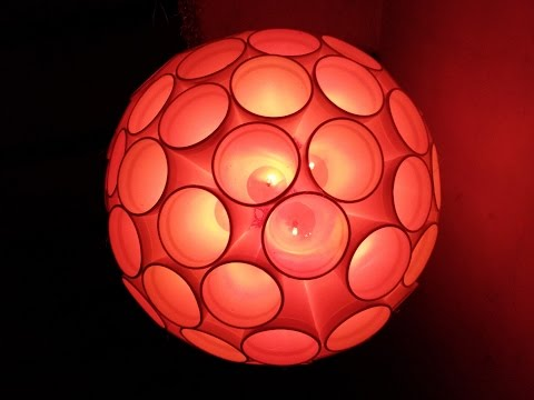Best DIY home decor : How to make light ball at home ICreative Diaries
