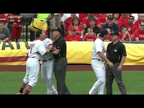 SF@STL: Molina ejected after close call at first base