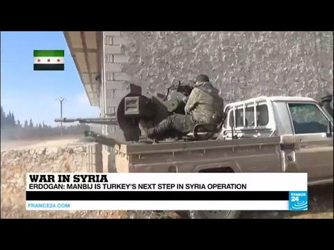 Syria : a very complex situation East of Aleppo