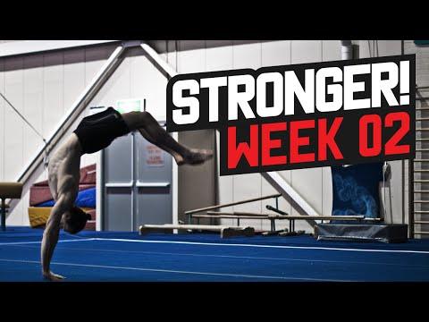 STRONGER! Gymnastics Series Week 02 - Lachlan Walker
