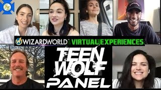 TEEN WOLF Cast Panel - Wizard World Virtual Experiences 2020