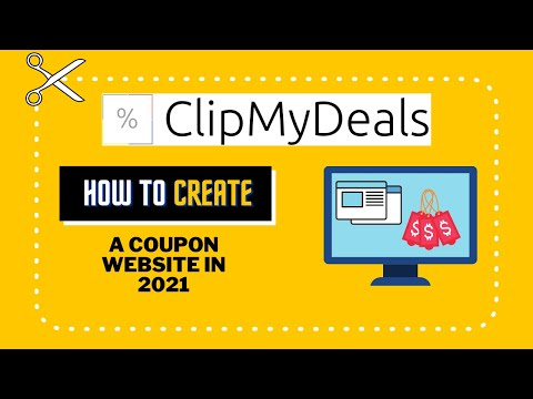 How to start a coupon website in 2021 | ClipMyDeals