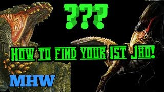 MHW How to Find your First Deviljho! Remove the guesswork and get hunting!