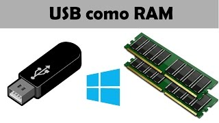 Como usar memoria USB como memoria RAM. - Windows xp/7/8