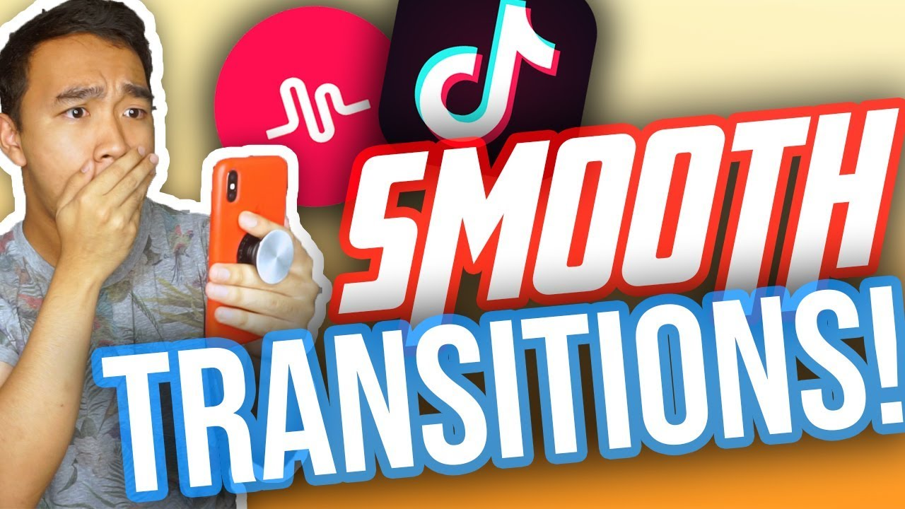 How To Do Smooth Transitions On Tik Tok Musical Ly W The New Update New Youtube