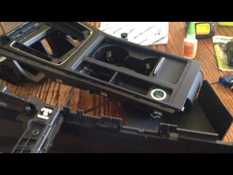 MK7 Golf R Center Console Teardown