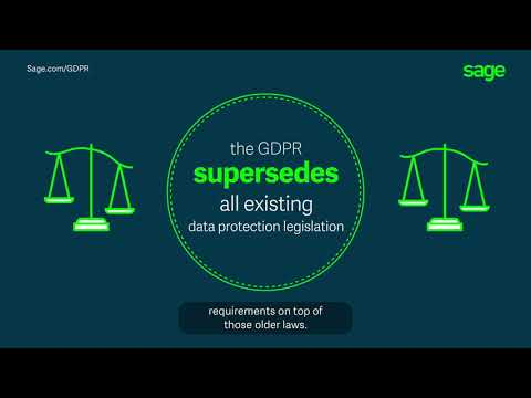 Sage: GDPR for Business – a Summary
