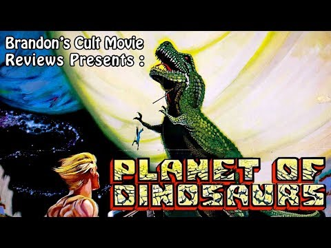 Brandon's Cult Movie Reviews: Planet Of Dinosaurs