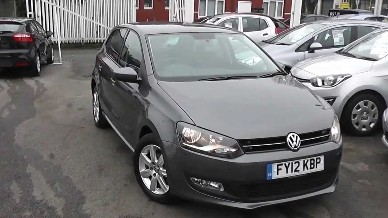 Used Car Vw Polo Hatch Match Grey Fy12kbp Wessex