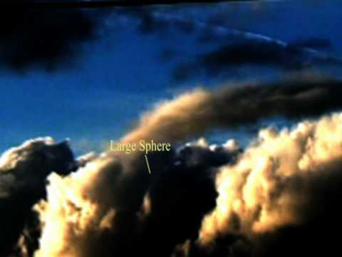 UFOS OR Giant Cloud Ships  of the 4th dimension  21 Feb 2010