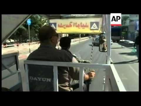 "Auto-Rickshaws or ""tuk-tuks"" may be set to edge out Gaza donkey carts"