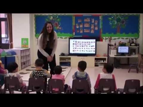 Teaching English in a Kindergarten in China