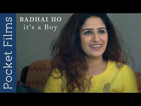 Hindi Drama Short Film - Badhai Ho-It's A Boy (Congratulations-It's A Boy)