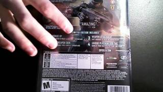 Unboxing: Crysis 2 Limited Edition PC