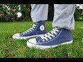 Full Day - wearing my Navy Blue Converse Chucks