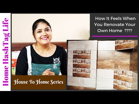 7 Ideas To Renovate Indian Small Bathroom + Tour | House To Home Series Ep. 1