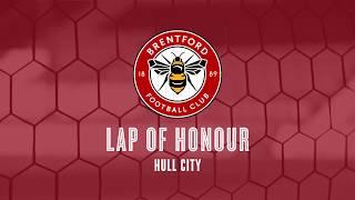 Hull City Lap Of Honour: INTERVIEWS