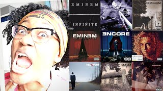 Reacting to Eminem for the FIRST TIME (Kim, Infinite, '97 Bonnie & Clyde, White America)
