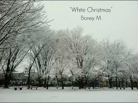 White Christmas (Lyrics) - Boney M