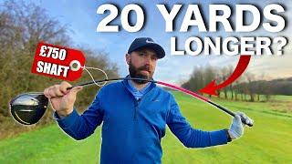 £750 AUTO FLEX golf shaft! | swing EASIER for LONGER drives?