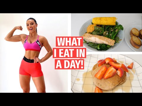 WHAT I EAT IN A DAY!! REALISTIC , HEALTHY MEALS | Krissy Cela