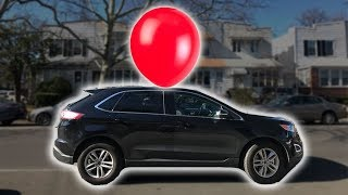 Real Life Giant Balloon Air Powered Car PART 1 ~ Cool Science Experiment