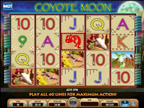 Slot Machine Coyote Moon Online
