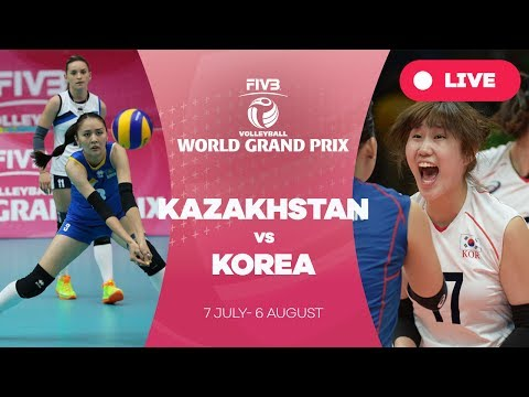 Kazakhstan v Korea - Group 2: 2017 FIVB Volleyball World Grand Prix
