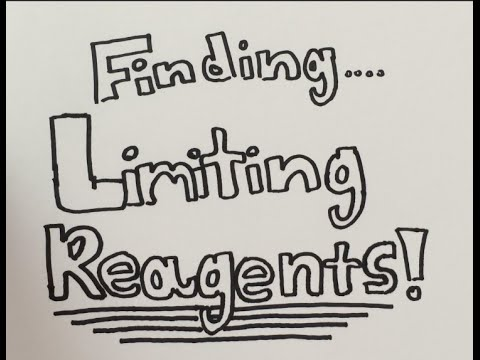 How To: Find Limiting Reagent (Easy steps w/practice problem)
