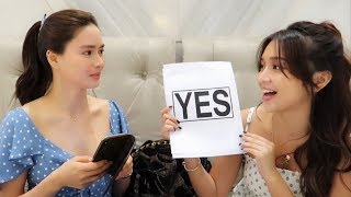 YES OR NO WITH KATHRYN BERNARDO ♥️ | Erich Gonzales